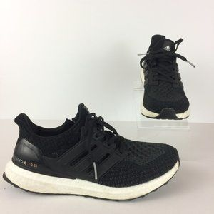 Adidas Black Ultra Boost Lace Up Sneakers Sz 7
